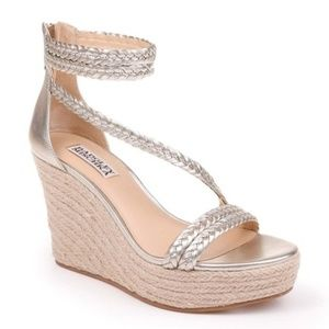 Badgley Mischka Lita Espadrille Wedge Sandal